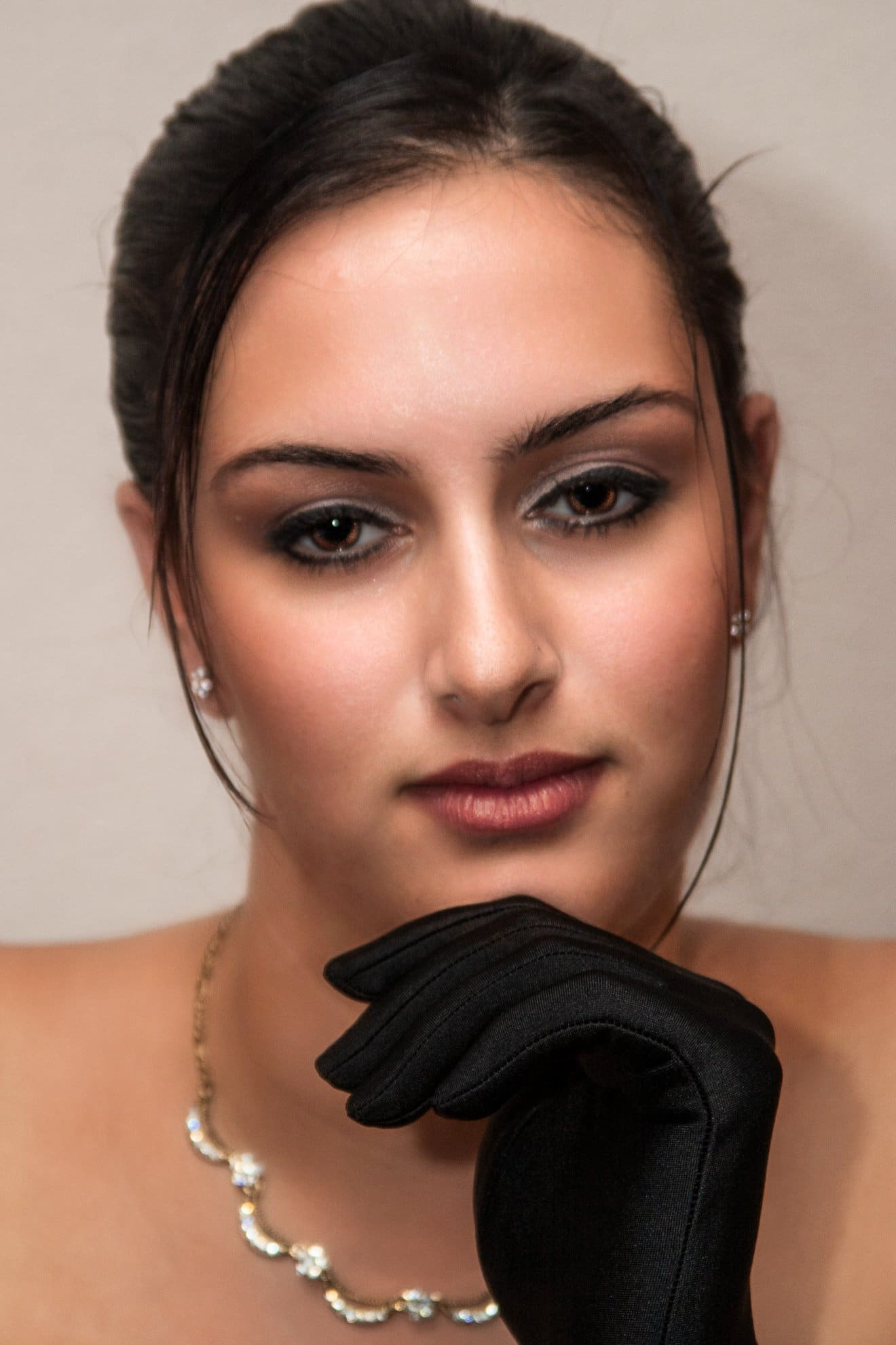Young Woman Formal Portrait