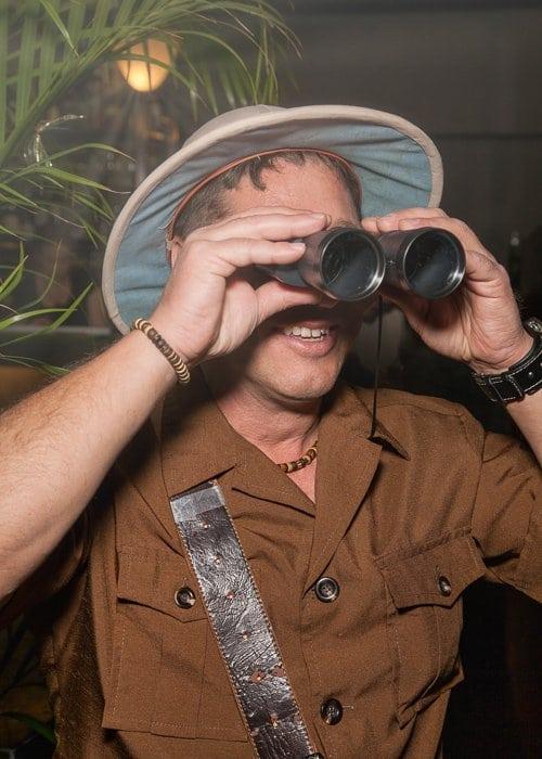Hunter at Jungle Party